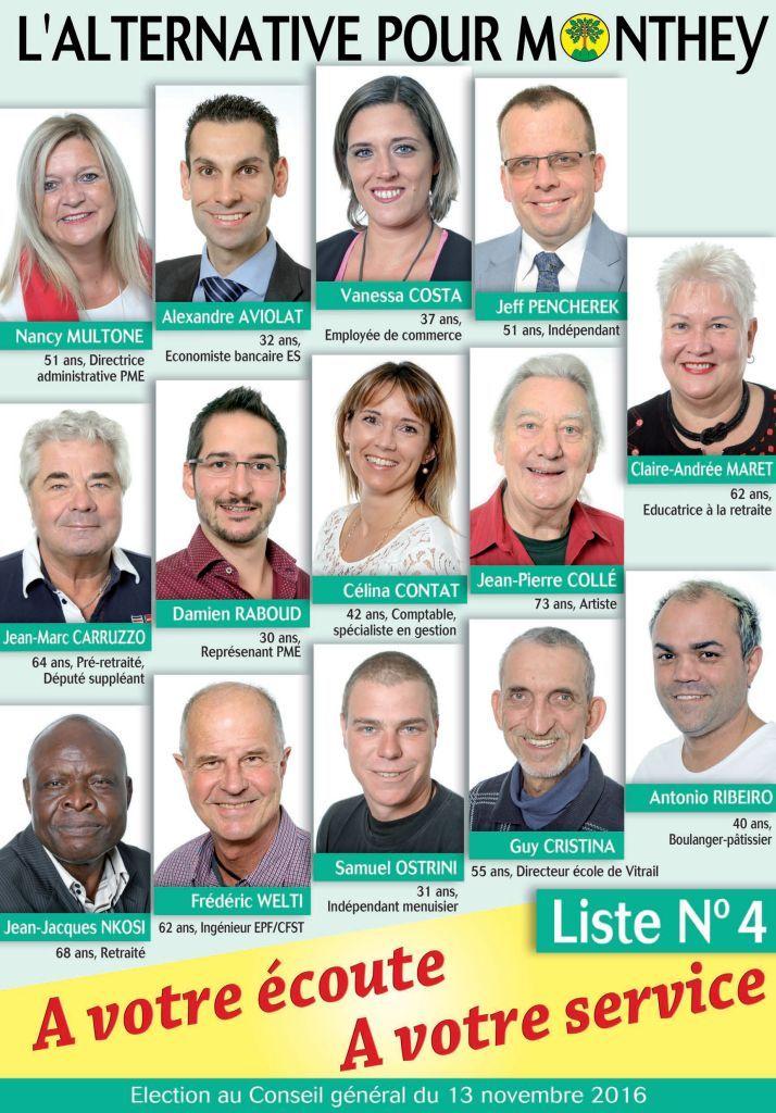 Candidats CG 2016